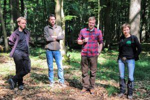 Team des Reallabors Wald