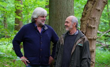 Die Preisträger im Wald